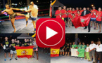 إسبانيا والجزائر والمغرب في دوري دولي لكيك بوكسينغ والكاي وان بكورنيش الناظور