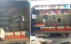 جمارك الناظور تحجز 75 عجلة مطاطية كانت معدة للتهريب