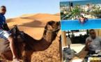 حُكم عليه غيابيا بـ10 سنوات في فرنسا.. ويستمتع بعطلته في المغرب