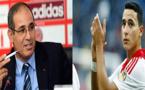 """الزاكي ينفي ضمه للاعب الدولي الناظوري """"أجاكس الهولندي"""" أنور الغازي"""