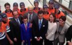 الوزيرة الفرنسية من أصل ريفي نجاة بلقاسم تنشر صورها مع الملك بطنجة