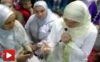 شاهدوا إسلام إسبانية على يد مرشدة دينية من الناظور وسط إحدى المساجد بإسبانيا