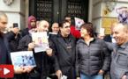 شاهدوا.. وقفة تضامنية مع تلاميذ إعزانن أمام السفارة المغربية بهولندا