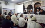 حفل تكريم الراحل  الحاج القيسي بن جلون الرئيس السابق للهيئة التنفيذية لمسلمي بلجيكا