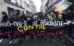 آلاف المتظاهرين الفرنسيين يطالبون بإنهاء حالة الطوارئ بالبلاد