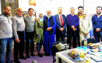 إجتماع مثمر بين تجمع مسلمي بلجيكا و صندوق الجنائز الإسلامية الرحمة بأنفرس