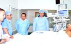 رئيس مجلس جهة الشرق يزور بعض جرحى حادثة الناظوربمسشفى وجدة