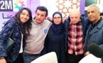 إبن الناظور محمد أمين التاج يلفت الأنظار في المعرض الدولي للكتاب ويعطي درسا في تحدي الإعاقة