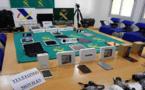 بالصور .. بعدما تم حجزها عند لص مغربي شرطة مليلية تعيد معدات إلكترونية لأصحابها الشرعيين بهولندا