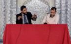 بالصور.. إبن الناظور عبد الوهاب بنعلي يحاضر حول أولويات المسلم الأوربي بالمسجد الكبير باستراسبورغ