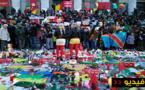 بالفيديو.. تضامن واسع من قبل الجالية الريفية والمغاربية المقيمين ببلجيكا مع ضاحيا هجمات بروكسل الدامية
