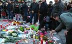 عمال بلدية بروكسل يباشرون عملية أرشفة رسائل التضامن مع ضحايا هجمات بروكسل