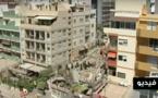 بالفيديو.. إرتفاع حصيلة إنهيار مبنى من 5 طوابق في إسبانيا ومغربية من بين القتلى