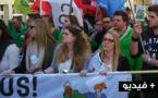 بالفيديو.. مسيرة حاشدة في بروكسل شارك فيها عدد من الريفيين ضد سياسات التقشف