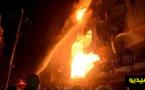 """بالفيديو.. إنفجار قوي يهز أرجاء فندق """"ماجستيك"""" و إصابة عدد من الأشخاص"""