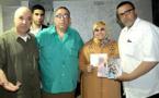 مقهى أرابيسك بوجدة يحتفي بمبدعين من الناظور القاصة زلفى أشهبون والقاص محمد خالدي