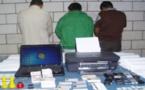 اعتقال 4 مغاربة ضمن أكبر شبكة لتزوير الأوراق النقدية بإسبانيا
