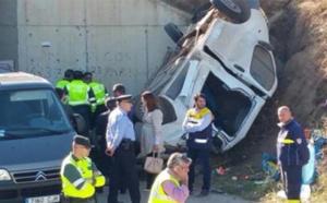 مصرع مغربي واصابة 18 اخرين في حادثتي سير شمال إسبانيا