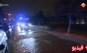 الشرطة الهولندية تنشر فيديو بالعربية للبحث عن متورطين في إطلاق نار على مهاجر مغربي بروتردام