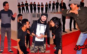 الفنانان طارق الشامي والطيب معاش يؤطران ورشة من محترف أمزيان للمسرح بالناظور