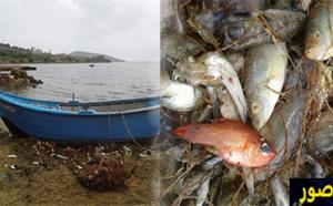 صيادون يتسببون في تدمير الحياة البحرية ببحيرة مارشيكا بهذه الطريقة