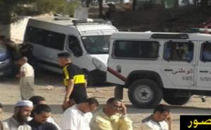 انتشار كثيف للقوات العمومية قرب مصليات الحسيمة تحسبا لإنطلاق مسيرات إحتجاجية