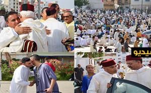 آلاف الناظوريين يؤدون صلاة عيد الفطر المبارك في أجواء دينية وروحانية بهيجة