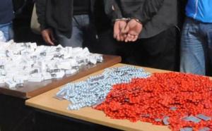 ارتفاع مقلق في عمليات حجز الأقراص المهلوسة القادمة من الجزائر بأزيد من 800 ألف قرص