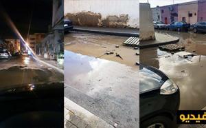 بالفيديو.. التساقطات المطرية تكشف مجموعة من النواقص تعتري تصريف المياه ببعض شوارع مدينة بني نصار