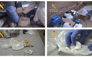 خطير.. تفكيك عصابة يتزعمها مغاربة طورت مخدرا قويا يسوق في المغرب