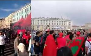 """مثير.. السلطات الروسية تحبط عملية """"حريك"""" جماعية للجمهور المغربي وهكذا تعاملت معهم"""