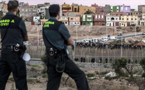 السلطات الاسبانية بالمدن المحتلة تستنفر قواتها بجميع النقط الحدودية لهذا السبب