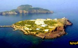 """بالفيديو: جزر """"تشافاريناس"""" بسواحل الناظور.. موقع جغرافي واستراتيجي وقدر تاريخي معلق"""