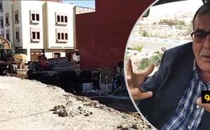 مستشار يطالب عامل الناظور للوقوف على اختلالات تشييد عمارة على حافة الوادي تهدد الساكنة