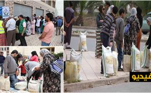 قافلة الإفطار توزع القفف على 500 معوز ويتيم بالناظور