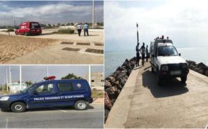 مياه مارتشيكا تلفظ جثة شخص اختفى عن الانظار منذ يومين