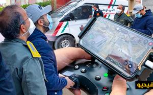 السلطات المحلية والأمنية بالعروي تستعين بالدرون لرصد مخالفي قانون الطوارئ وتعتقل عددا منهم