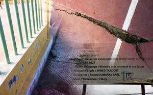 """مستشار جماعي ببودينار يطالب عامل الإقليم بفتح تحقيق حول """"خروقات"""" بملعب للقرب"""