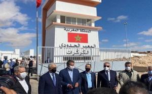 """زعماء الأحزاب الوطنية يصدرون بيانا مهمّا من معبر """"الكركرات"""" الحدودي"""