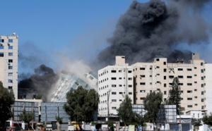 صواريخ إسرائيل تتساقط على مقر قناة الجزيرة