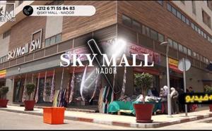 شاهدوا.. سكاي مول وسط الناظور يوفر فضاء ومحلات تجارية للتسوق لا مثيل لها بالناظور