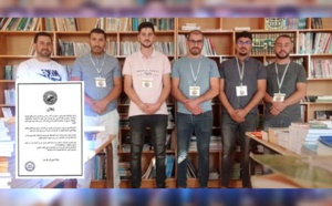 """جمعية """"ثويزا للعمل الخيري"""" تشرع في توزيع الكتب على تلاميذ ثانوية الكندي بدار الكبداني"""